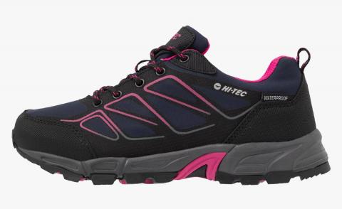 Hi-Tec Ladies Ripper Low Shoe Navy/Black/Magenta