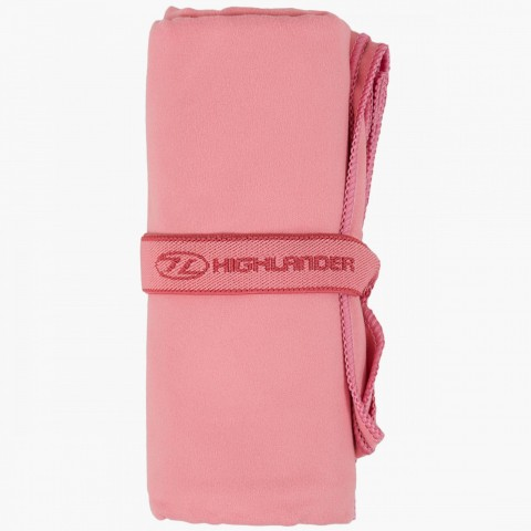Highlander Lightweight Soft Towel Pink Small