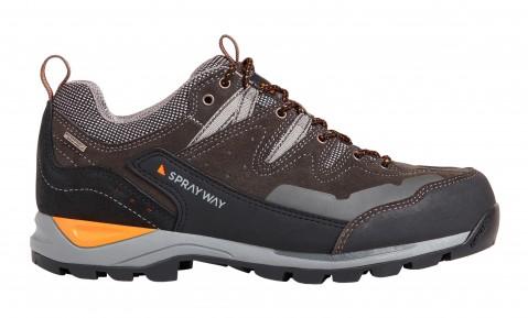Sprayway Mens Oxna Low HydroDry Shoe Charcoal
