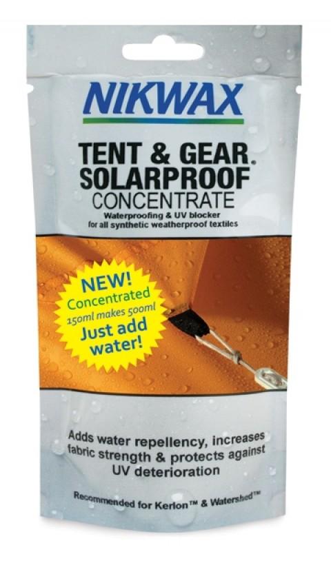 Nikwax Tent & Gear Solarproof 150ml Pouch