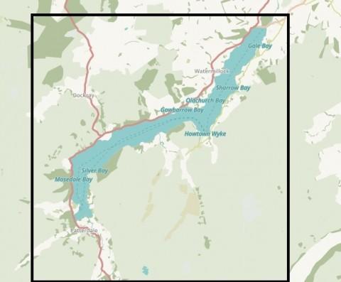Splash Maps Ullswater Way Toob