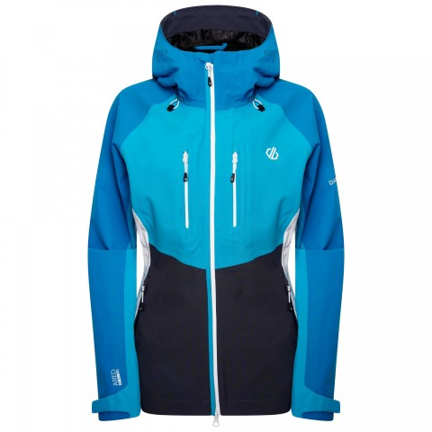 DARE2B LADIES DIVERSE JACKET BLUE REEF/FRESHWATER BLUE/EBONY GREY