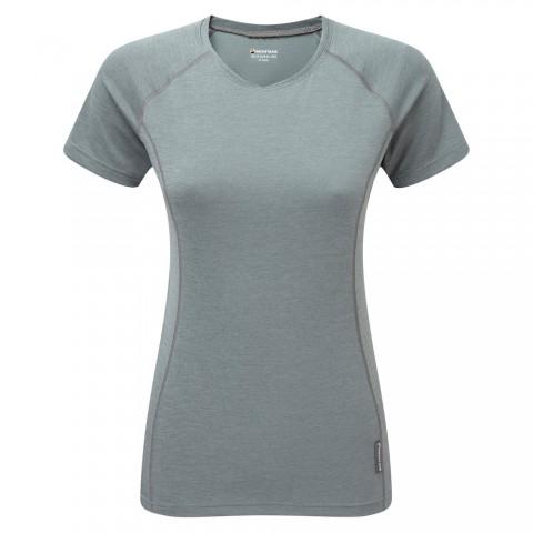 Montane Ladies Dart T-Shirt Stratus Grey