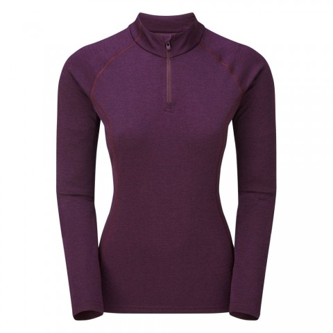 Montane Ladies Dart Zip Neck Saskatoon Berry