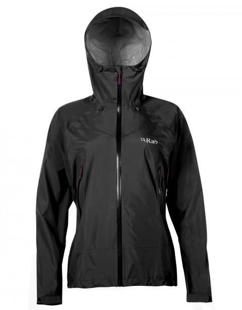Rab Ladies Downpour Plus Jacket Black