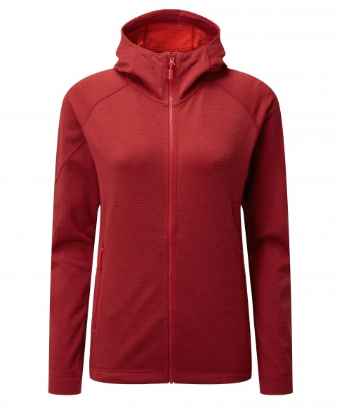 Rab Ladies Nucleus Hoody Crimson