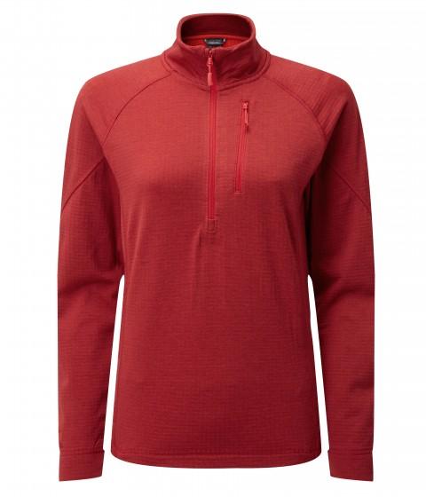 Rab Ladies Nucleus Pull-On Crimson