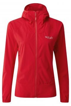 Rab Ladies Borealis Jacket Ruby Red