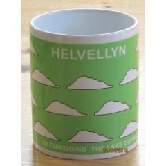 Peaks in Profile Helvellyn Groupie Mug