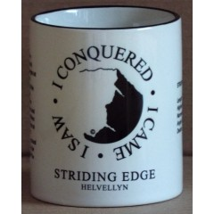 Peaks in Profile Striding Edge Mug
