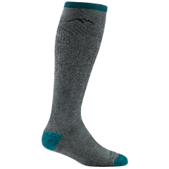Darn Tough Ladies Mountaineering Over-The-Calf Extra Cushion Sock Midnight