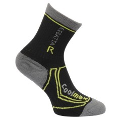 Regatta Kids Coolmax Walking Socks Black
