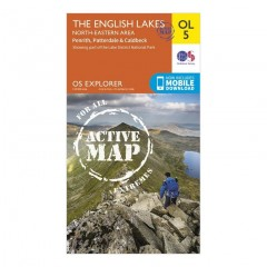 Waterproof Explorer Outdoor Leisure Active Maps for the Lake District