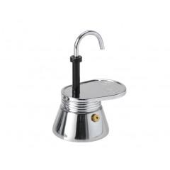 GSI Portable Stovetop Stainless Mini Espresso Maker