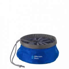 Mountain Paws Collapsible Food Bowl Small Blue