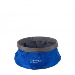 Mountain Paws Dog Water Bowl Small Blue