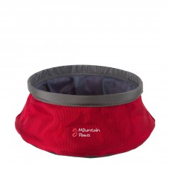 Mountain Paws Dog Water Bowl Large Red