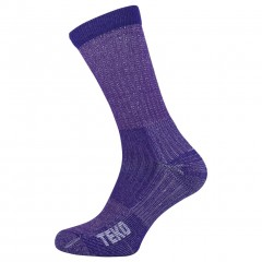 Teko Merino Ladies Light Hiking Sock Plum