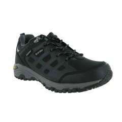 Hi-Tec Mens Velocity Low Walking Shoes Black/Grey