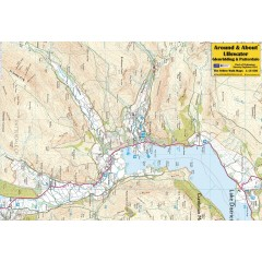 Around & About Map Ullswater Glenridding & Patterdale