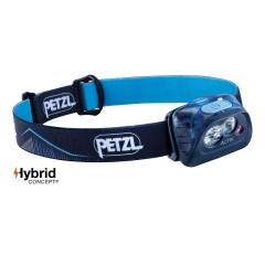 Petzl Actik 350 Lumens Headtorch Blue