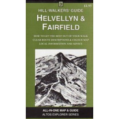 Helvellyn & Fairfield Map & Guide