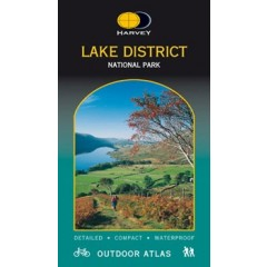 Harveys Lake District Outdoor Atlas