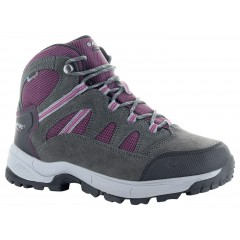 Hi-Tec Ladies Bandera Lite Boot Charcoal/Purple