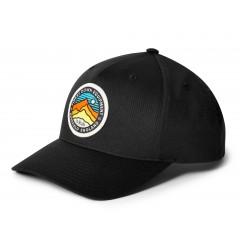 Rab Baseball Cap 3 Peaks Black