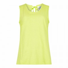 Weird Fish Ladies Berti Vest Acid Lime