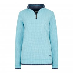Weird Fish Ladies Beyonce Fleece Cyan