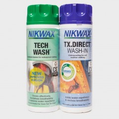 Nikwax Tech Wash/TX Direct 300ml Twin Pack