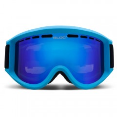 Bloc Aero Goggles Blue With Clear Lens
