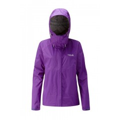 Rab Ladies Downpour Jacket Nightshade