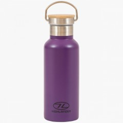 Highlander 500ml Campsite Bottle Purple