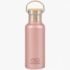 Highlander 500ml Campsite Bottle Pink
