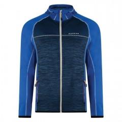 Dare2b Mens Ratify II Core Stretch Fleece Oxford Blue