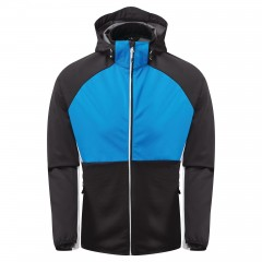 Dare2b Mens Endure Soft Shell Jacket Athletic Blue/Black