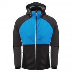 Dare2b Mens Endure Soft Shell Jacket Athletic Blue/Black