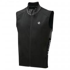 Dare2b Mens Sequel Soft Shell Gilet Black