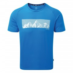 Dare2b Mens Righteous Graphic Tee Blue