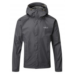 Rab Mens Downpour Jacket Graphene