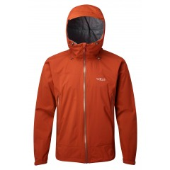 Rab Mens Downpour Plus Jacket Firecracker