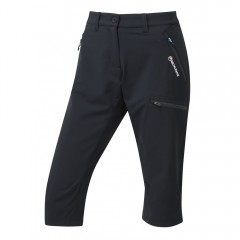 Montane Ladies Dyno Stretch Capri Pants Black