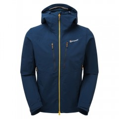 Montane Mens Dyno XT Soft Shell Jacket Narwhal Blue