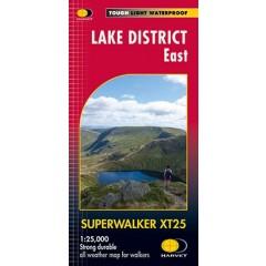 Harveys Lake District East Map