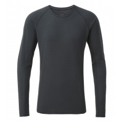 Rab Mens Forge Merino Long Sleeve Tee Beluga
