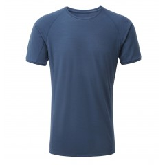 Rab Mens Forge Merino Short Sleeve Tee Ink