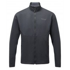 Rab Mens Geon Jacket Black/Steel Marl