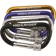 Highlander Screwgate Keyring Karabiner